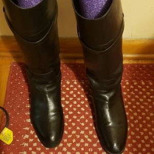 Knee High Wide Calf Riding Boots